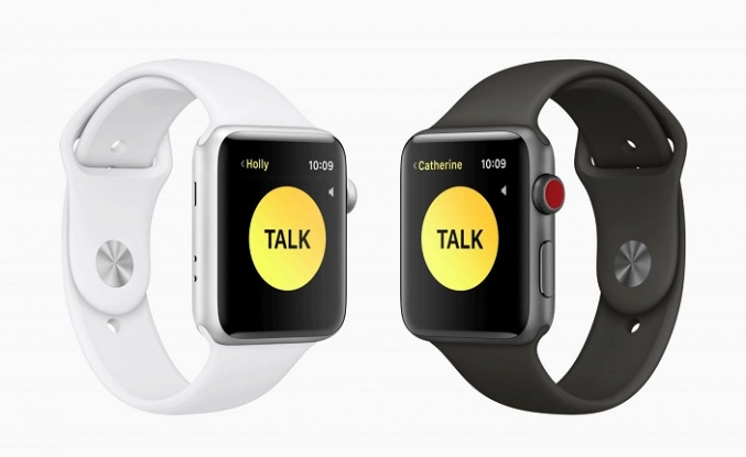 Apple Watch'taki Walkie-Talkie kapatıldı